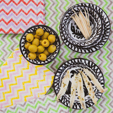 Load image into Gallery viewer, Casa Blanca & Negra MINI bowl with hand painted designs
