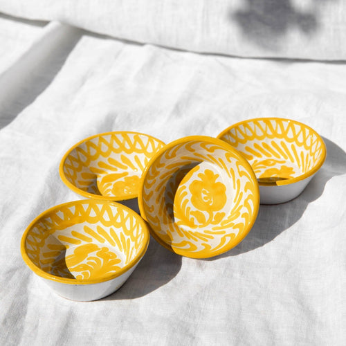 Casa Amarilla MINI bowl with hand painted designs