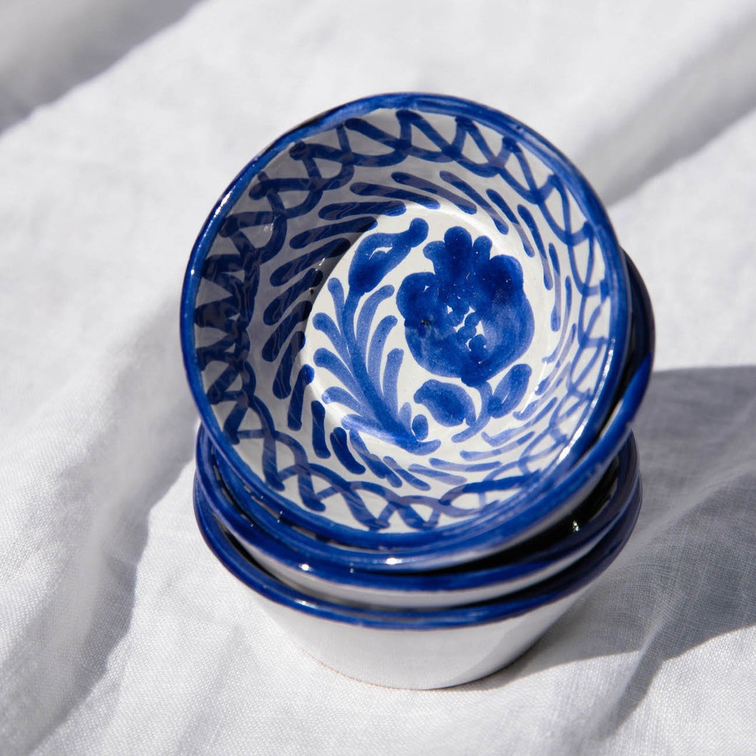 Casa Azul MINI bowl with hand painted designs