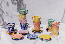 Load image into Gallery viewer, Casa Lila MINI plate with hand painted designs