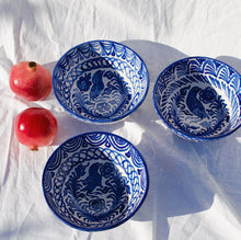 Load image into Gallery viewer, MEDIUM bowl with hand painted designs - Pomelo casa