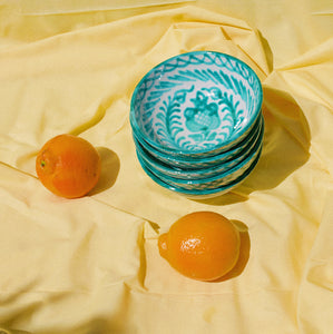 SMALL bowl with hand painted designs - Pomelo casa