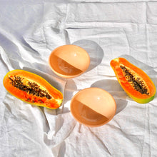 Load image into Gallery viewer, Casa Melocoton SMALL bowl with peach glaze