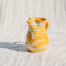 Load image into Gallery viewer, Casa Amarilla SMALL pitcher with hand painted designs