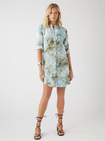 Fifteen Twenty Tie Dye Shirt Dress