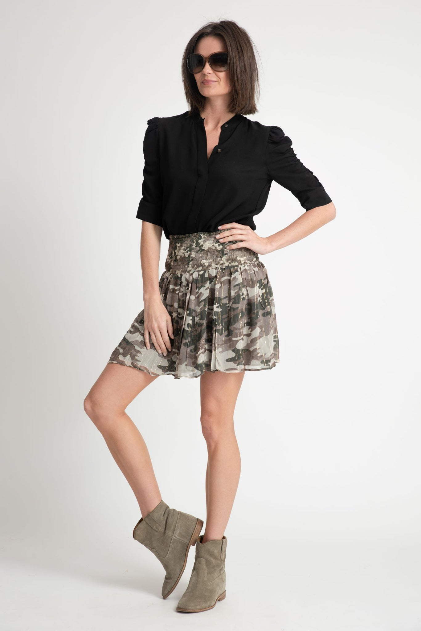 Muche et Muchette Texas Mini Skirt