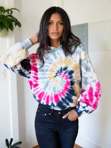 Nation Ltd. Maris Tie Dye Hoodie