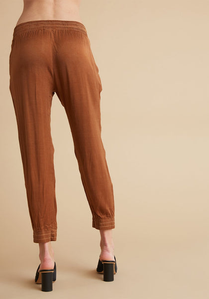Bella Dahl Copper Jogger Pant