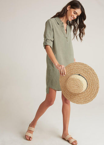 Bella Dahl Long Sleeve A-Line Dress