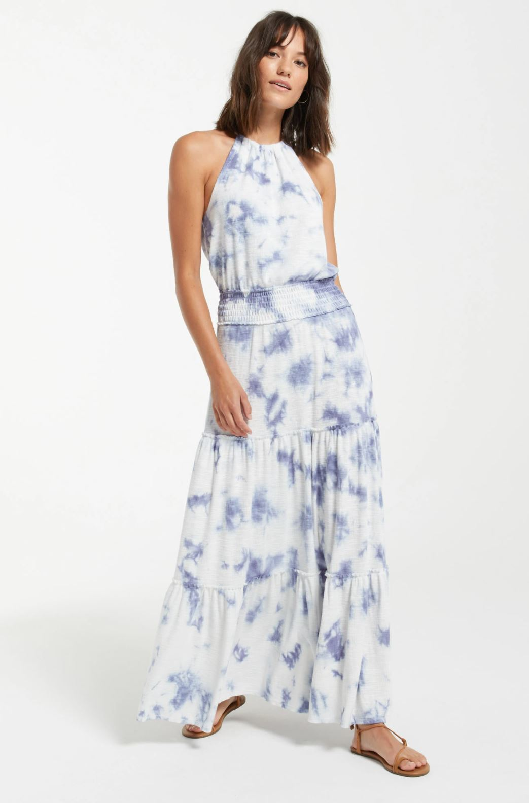 Z Supply Beverly Cloud Tie-Dye Slub Dress