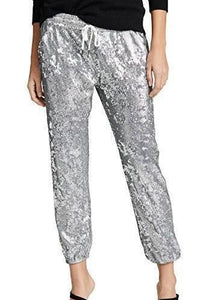 David Lerner Sequin Jogger Pants