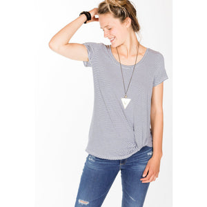 Fifteen Twenty Pick Up Hem Top