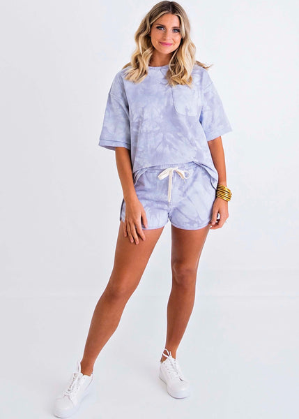 Karlie French Terry Short Set With Mask