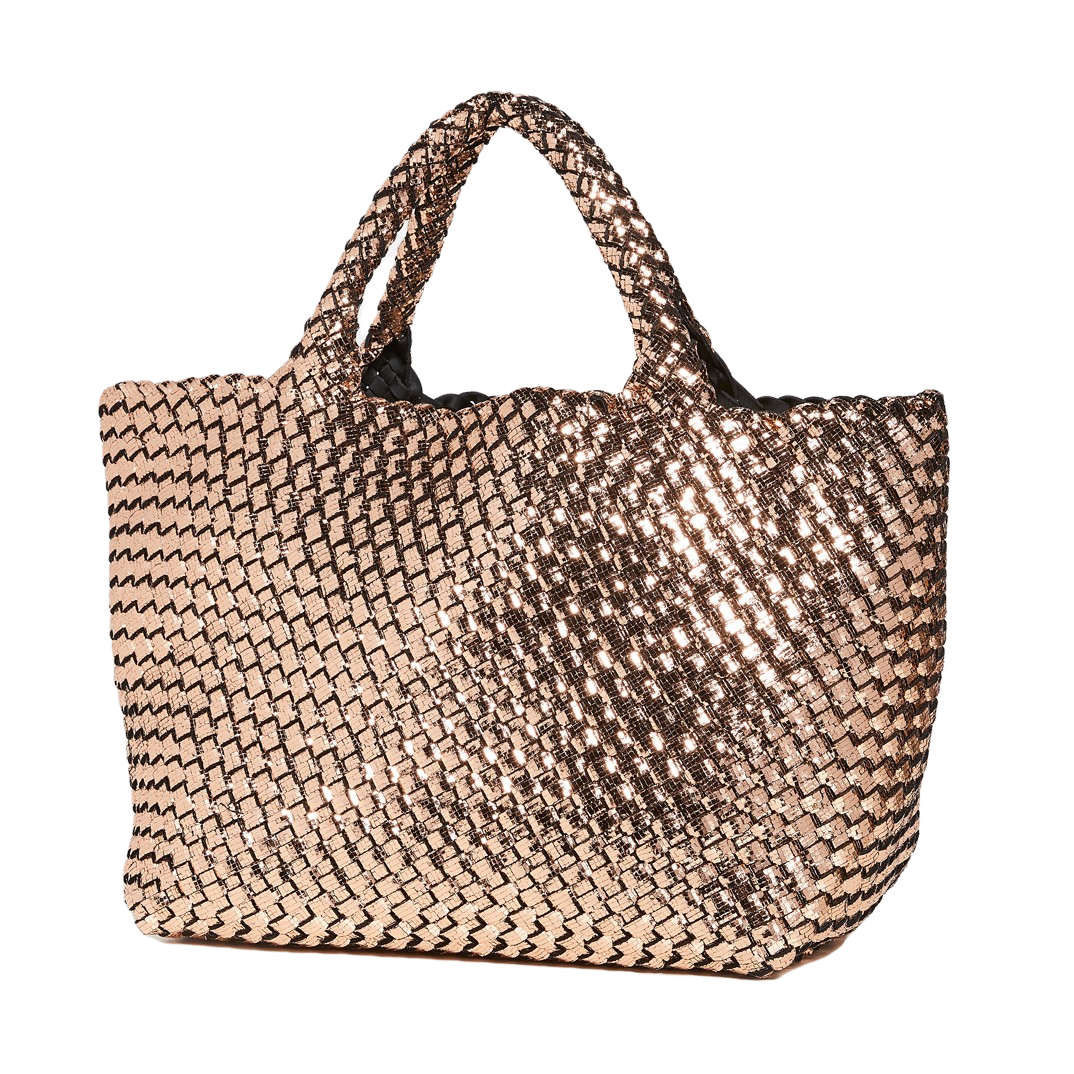 Naghedi St. Barths Small Tote Rose Quartz
