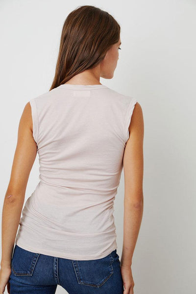 Velvet Estina Gauzy Whisper Scoop Neck Tank