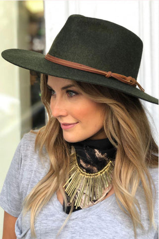 Wyeth Logan Olive Hat