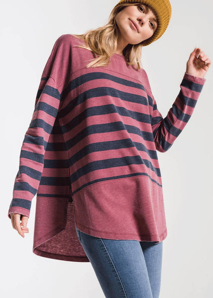 Z Supply Modern Stripe Long Sleeve Top