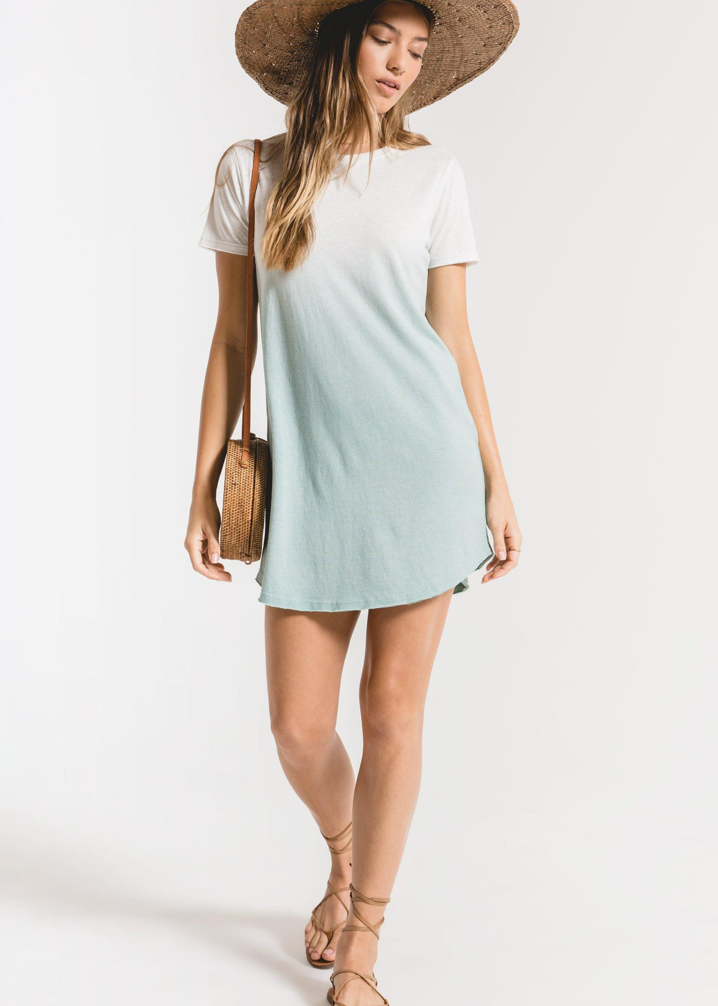 Z Supply Ombre Dip Dye Dress