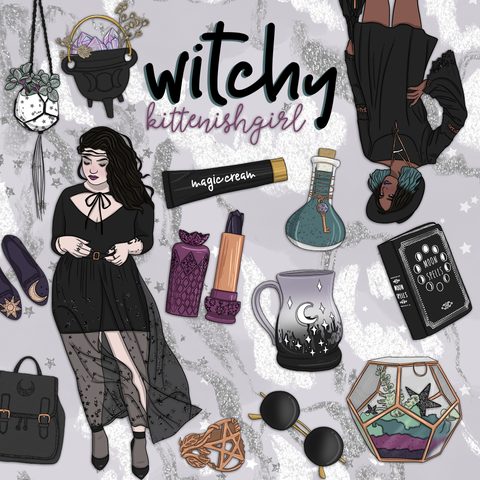 Witchy // Clip Art