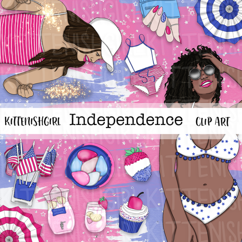 Independence // Clip Art