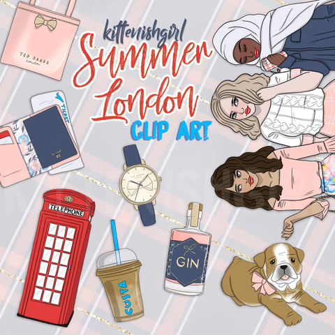 Clip Art - Summer London