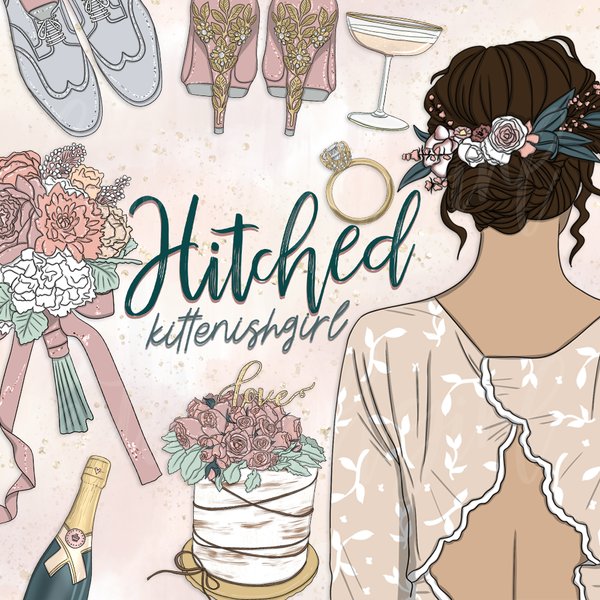 Hitched // Clip Art