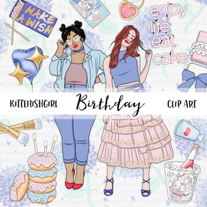 Birthday // Clip Art