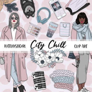 Clip Art - City Chill
