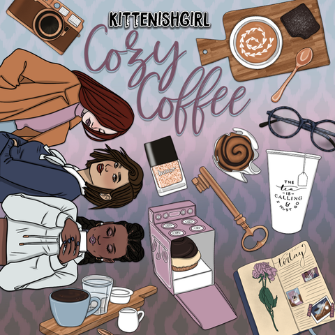 Cozy Coffee // Clip Art