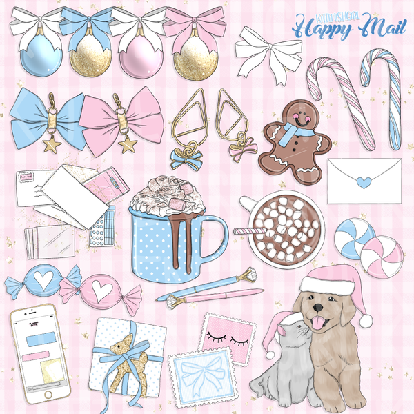 Happy Mail // Clip Art