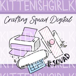 Crafting Squad // Personal Use Digital