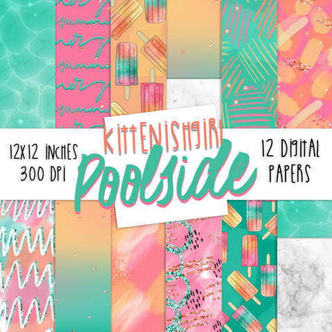 Digital Papers - Poolside