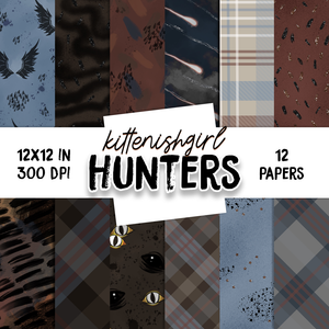 Hunters // Digital Papers