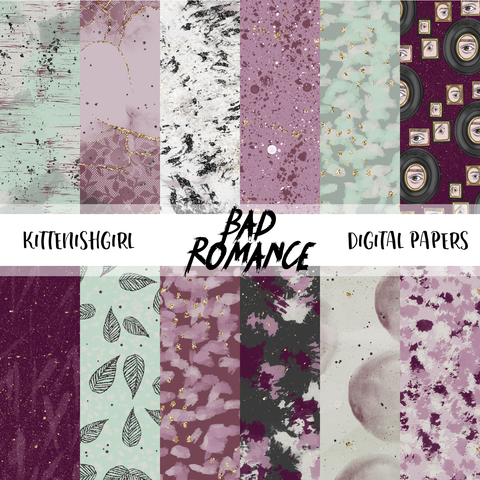 Bad Romance // Digital Papers