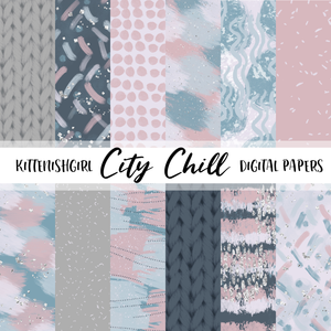 Digital Papers - City Chill