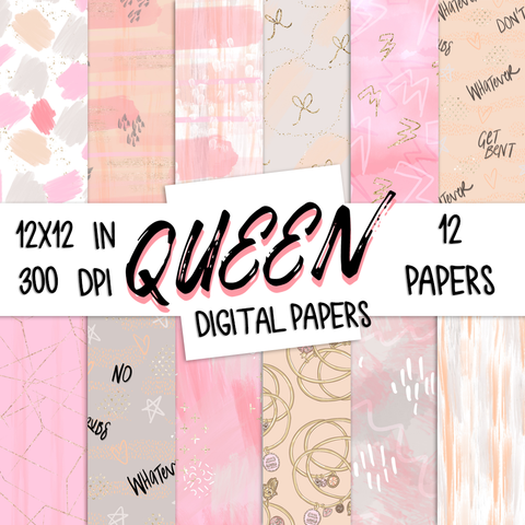 Digital Papers - Queen