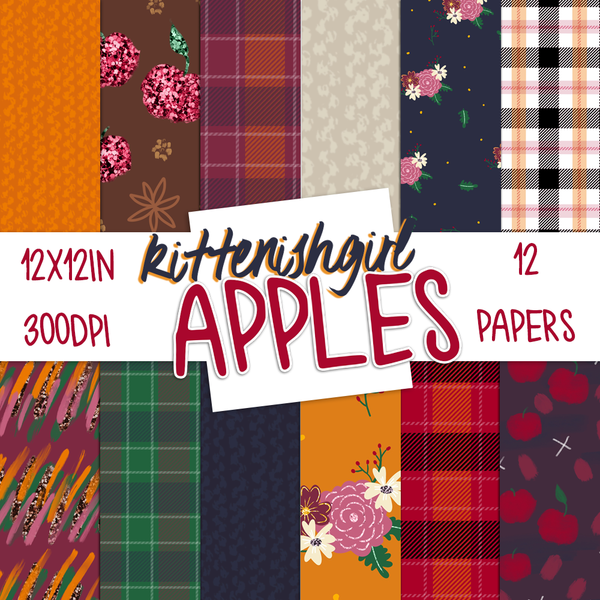 Apples // Digital Papers