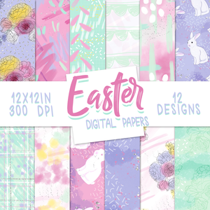 Digital Papers - Easter