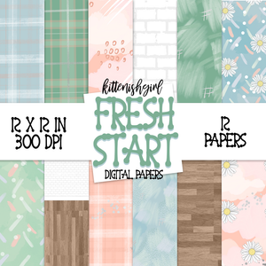 Digital Papers - Fresh Start