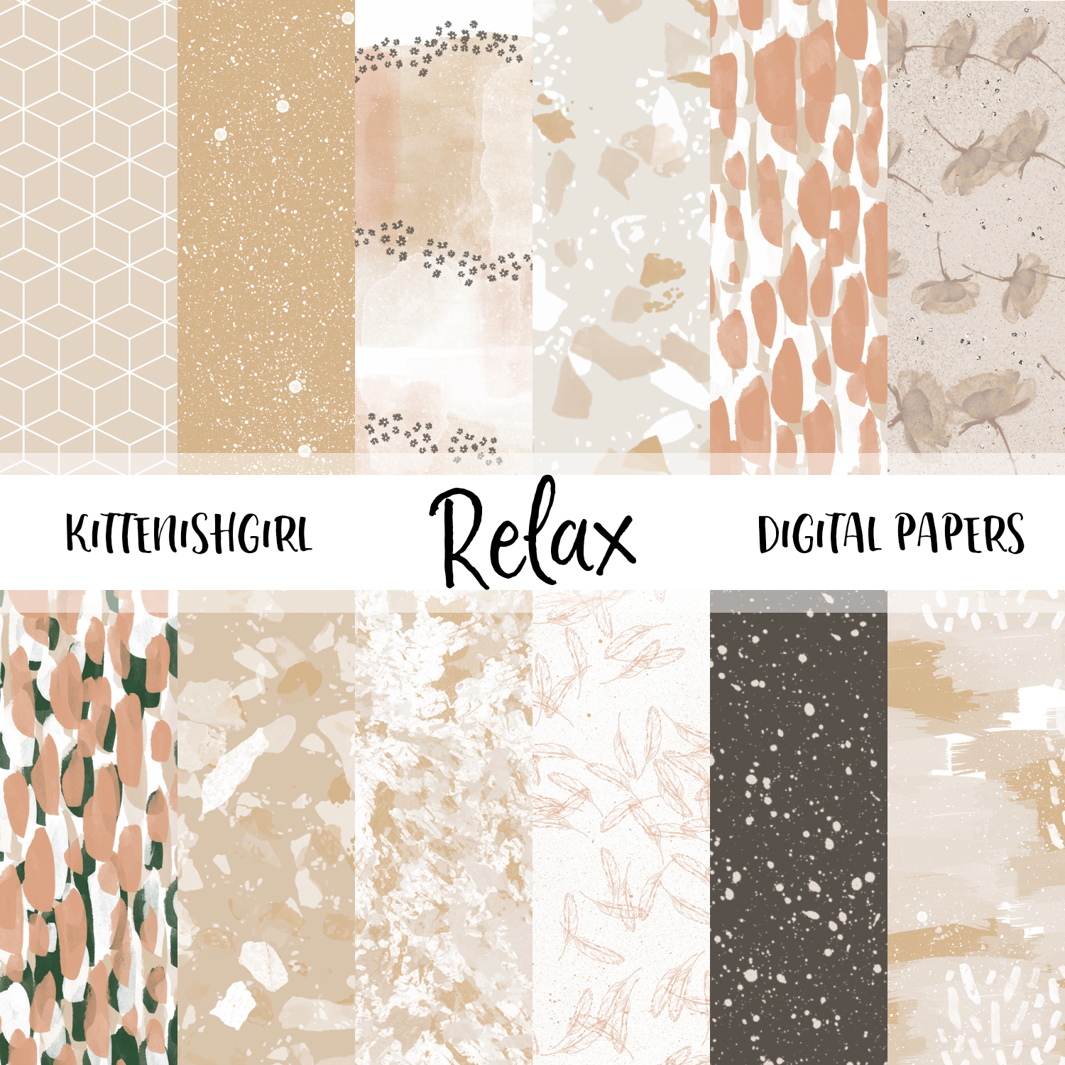 Relax // Digital Papers
