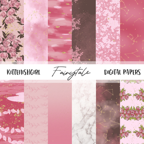 Digital Papers - Fairytale