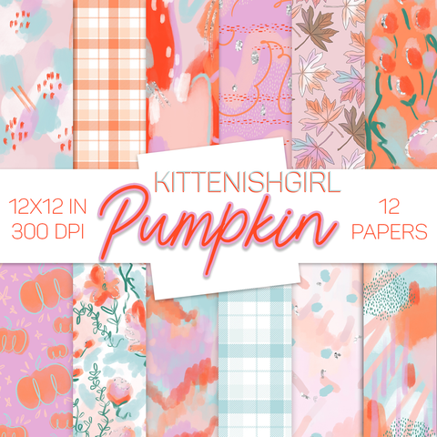 Digital Papers - Pumpkin