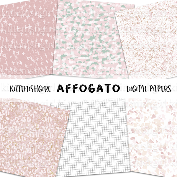 Affogato // Digital Papers