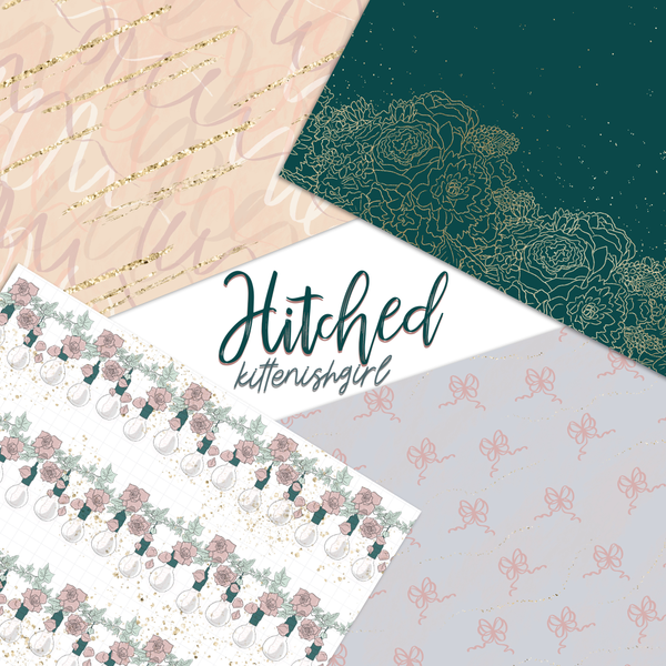 Hitched // Digital Papers