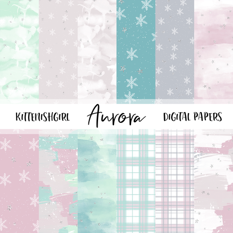 Aurora // Digital Papers