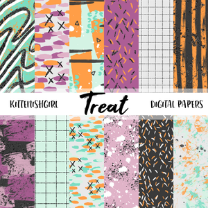 Treat // Digital Papers