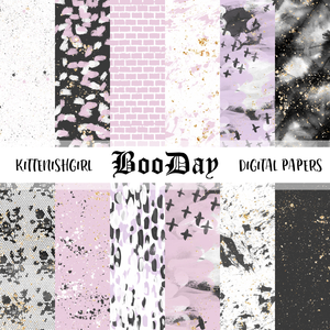 BooDay // Digital Papers