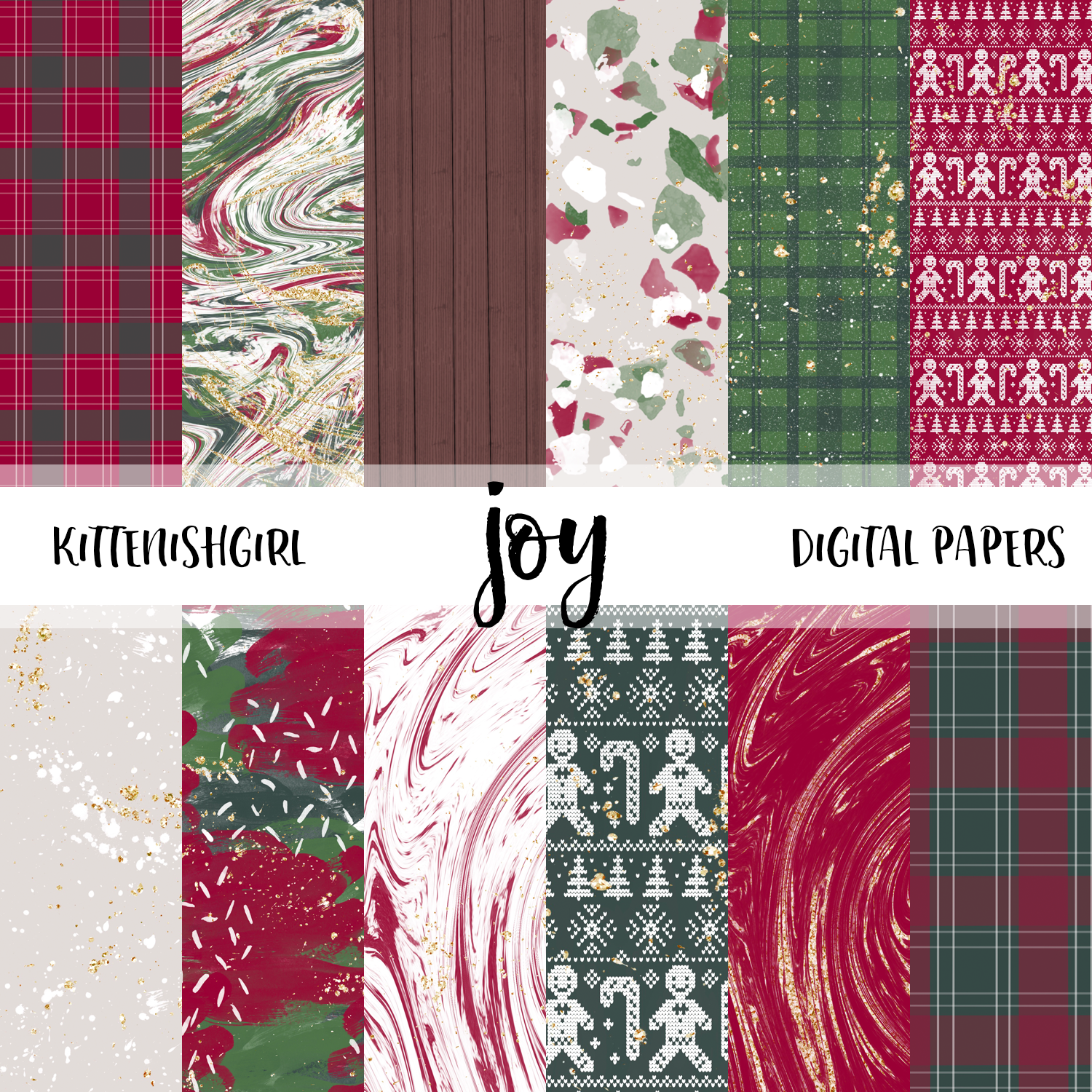 Joy // Digital Papers