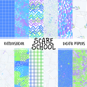 Scare School // Digital Papers