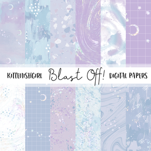 Blast Off! // Digital Papers